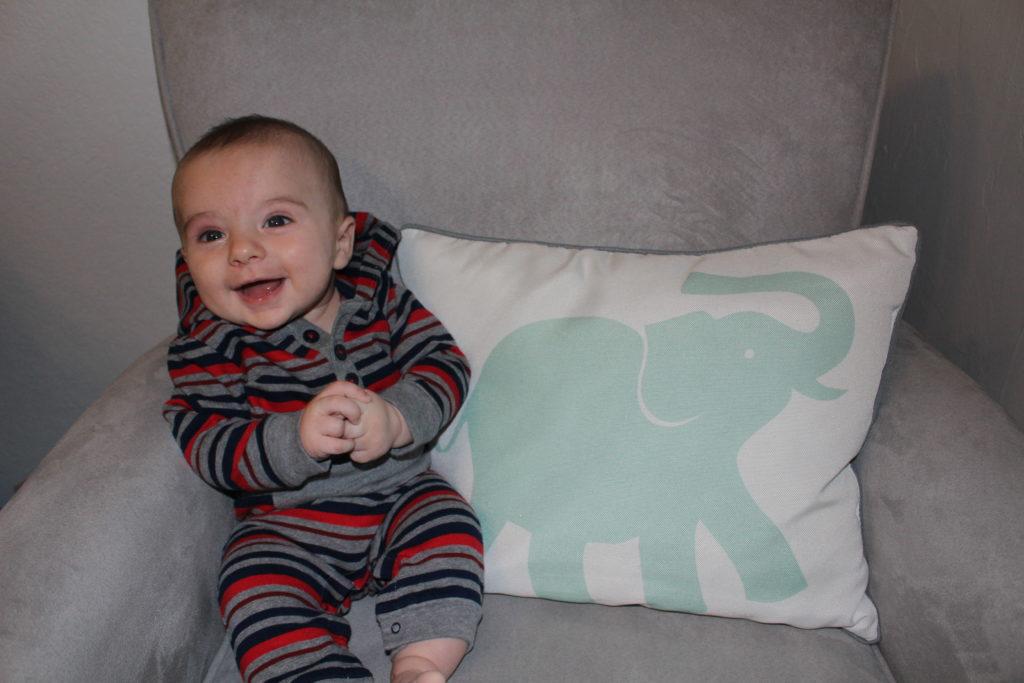 Ben at Four Months