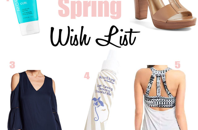 Friday Favorites – Spring Wish List Edition