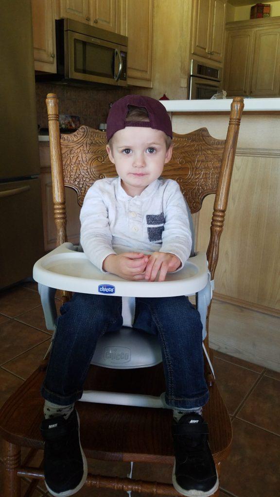 Luke in Texas A&M Hat
