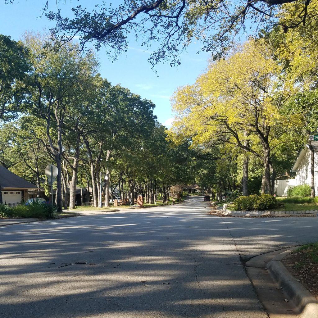 October in Texas