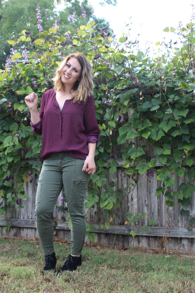 Stitch Fix Top and Jeans