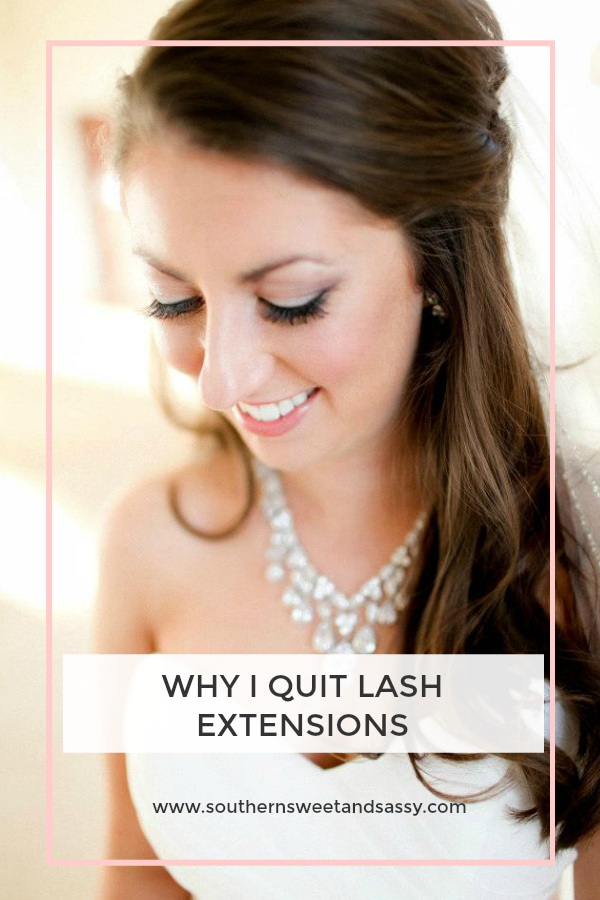 Why my lash extensions didn't work out and what I am doing instead!