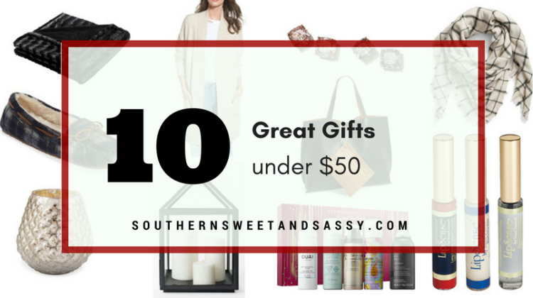 Top 10 Gifts Under $50 (For Her)