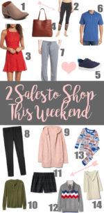 2 Sales to Shop This Weekend!