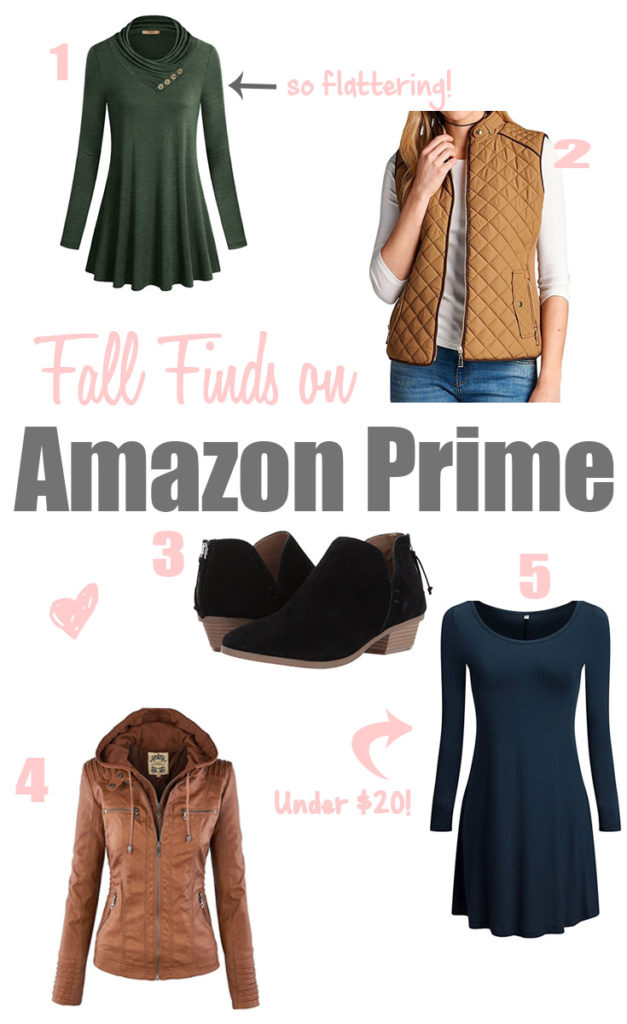 Fall Finds on Amazon Prime