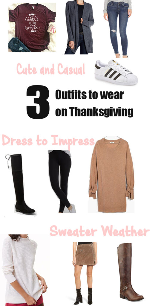 Outfits to wear on Thanksgiving