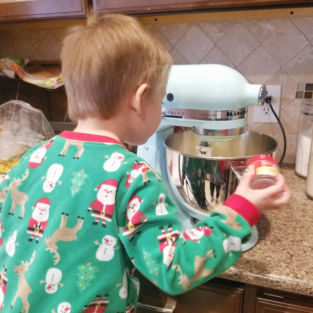 Easy Christmas Cookies, Baking with Toddlers