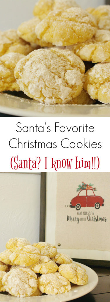 Santa's Favorite Christmas Cookies, fun and easy baking with the kids!