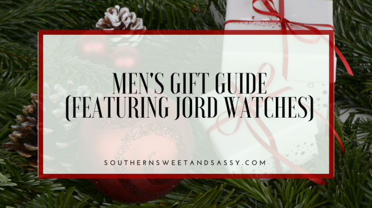 Men's Gift Guide Featuring JORD watches