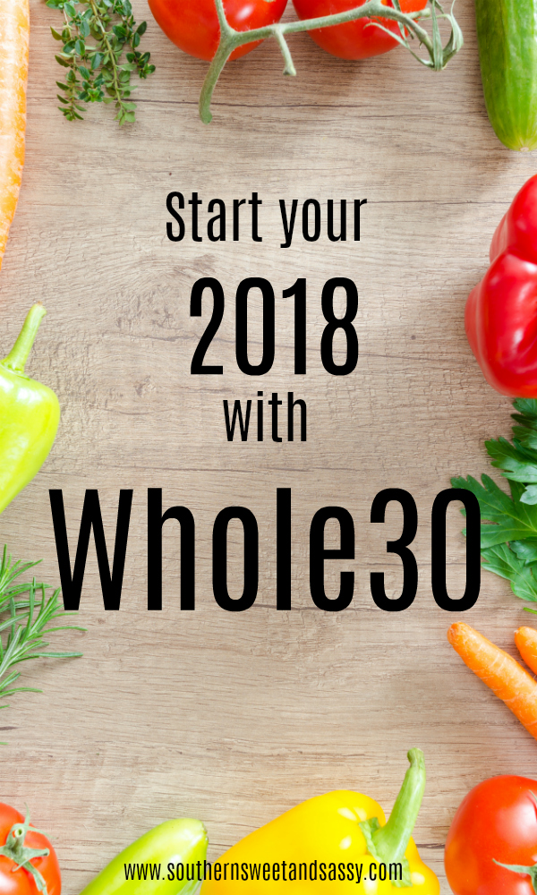 Kick off 2018 with a round of Whole30 with me. #cleaneating #healthy #newyearsresolutions #reset