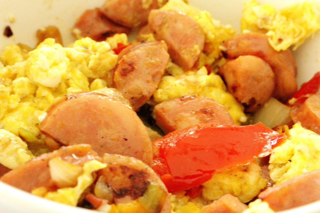 Easy Egg Scramble - Whole30