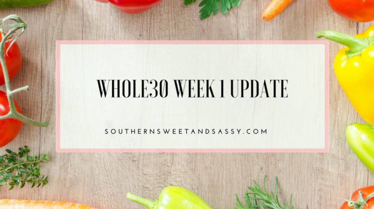 Whole30 Week 1 Update