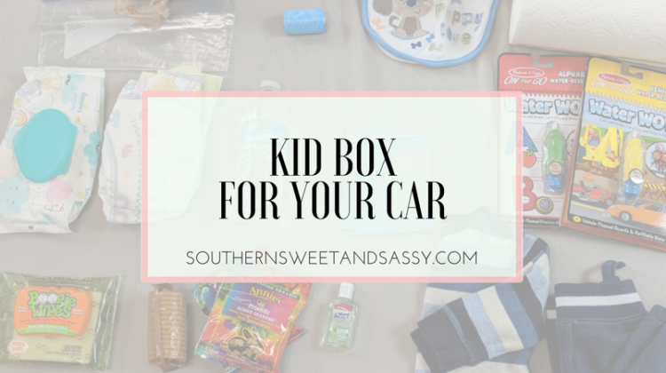 Kid Box for Car