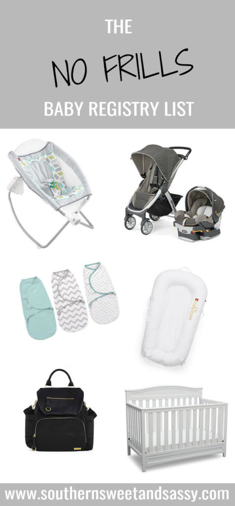 Everything you need to bring home baby, with out all the extra gear taking up space! Keep it simple because having a baby for the first time is challenging enough!